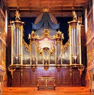 1888 Walcker organ at the Winterthur Stadtkirche, Switzerland