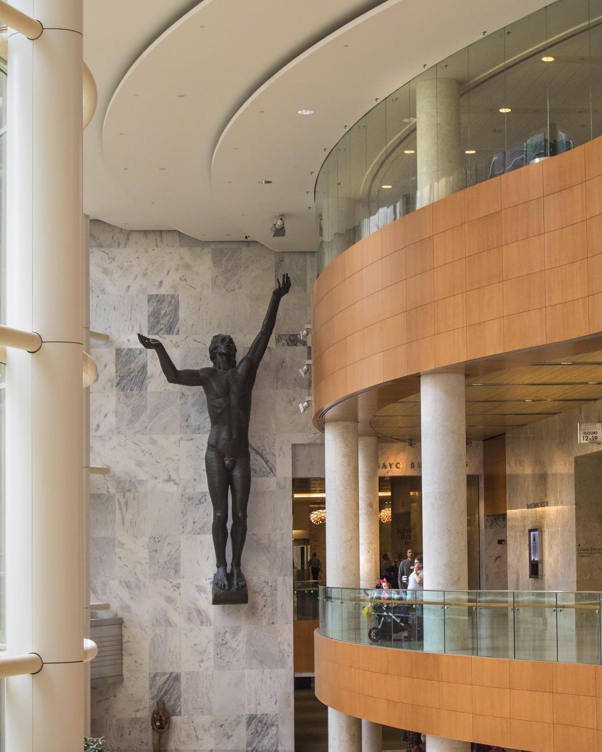 Photos: A walk through Mayo Clinic's healing art | MPR News
