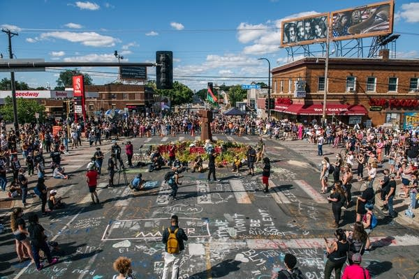 Fate Of George Floyd Square Hotly Debated In Minneapolis