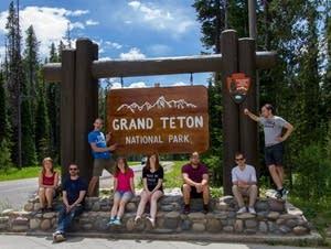 2016 GVSU National Park Tour