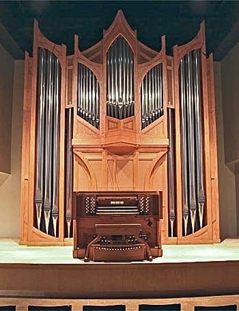 2008 Casavant Frères organ, Opus 3868, at Recital Hall, Concordia...