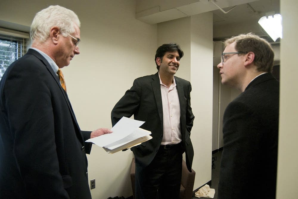 Chris Farrell, Aneesh Chopra