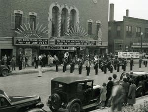 The Chateau Theatre in Rochester, Minn. is pictured in 1938.