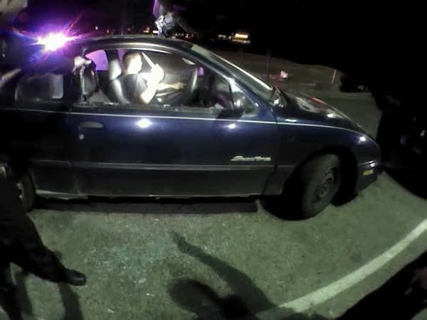 Police shot man twice with Taser, with no effect.
