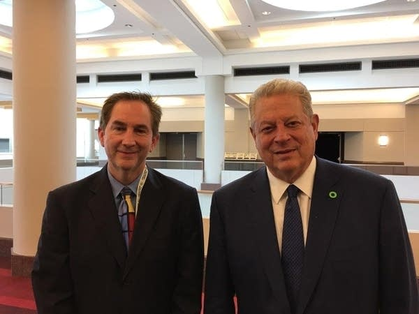 Former Vice President Al Gore talks climate change solutions in Twin Cities