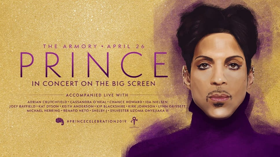 Prince in concert on the big screen