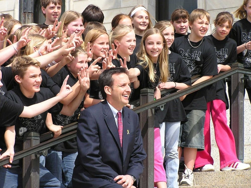 Pawlenty and kids