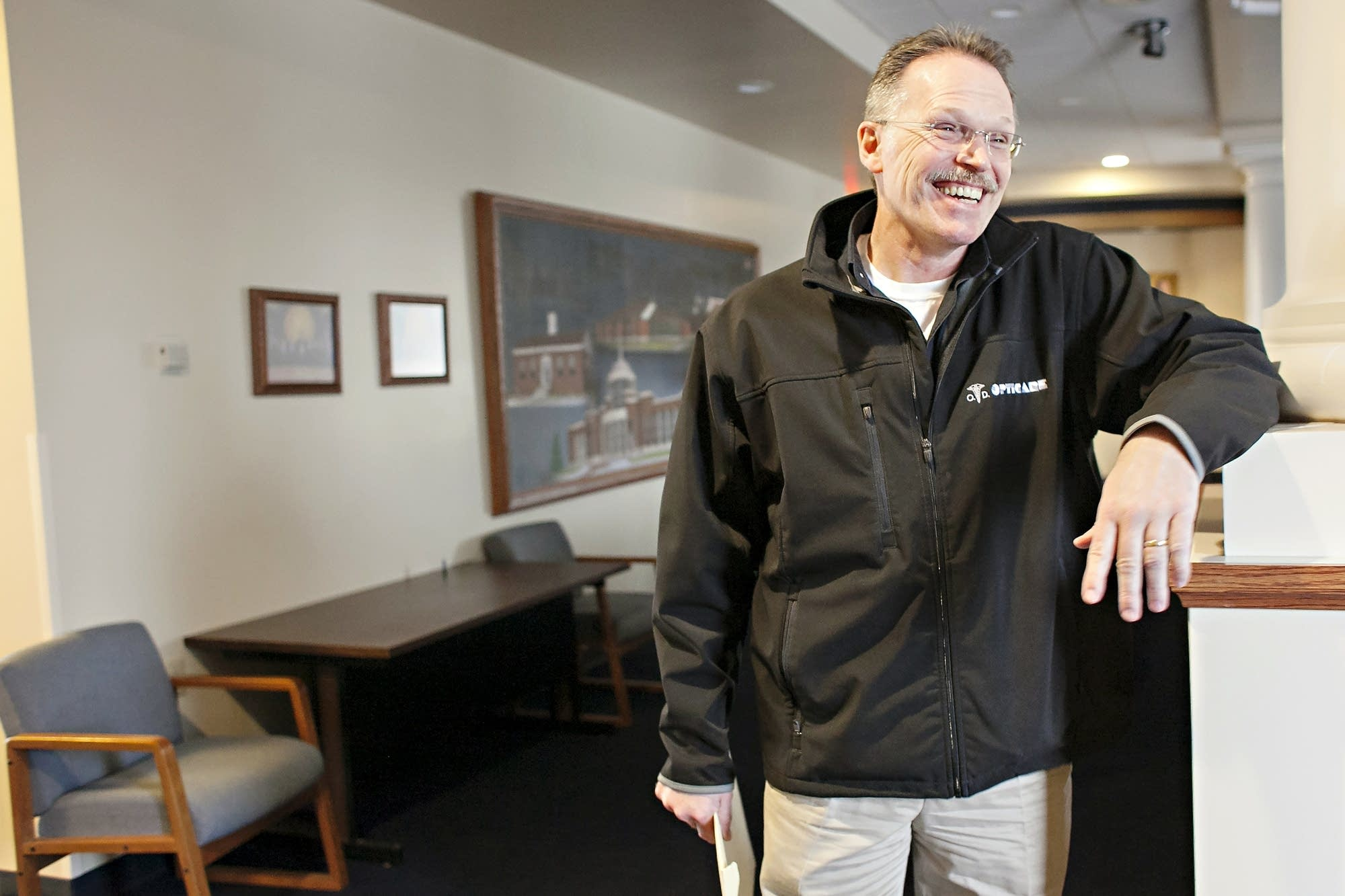 Steve Gander, 55, took office as mayor of East Grand Forks