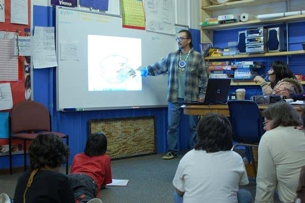 Teacher Adrian Liberty