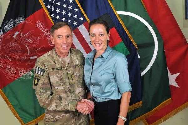 Gen. David Petraeus, Paula Broadwell