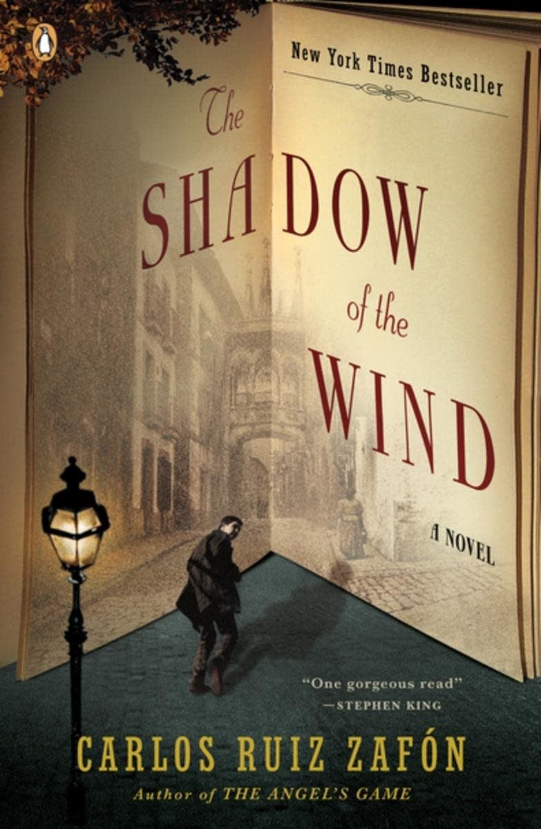 'Shadow of the Wind' by Carlos Ruiz Zafon