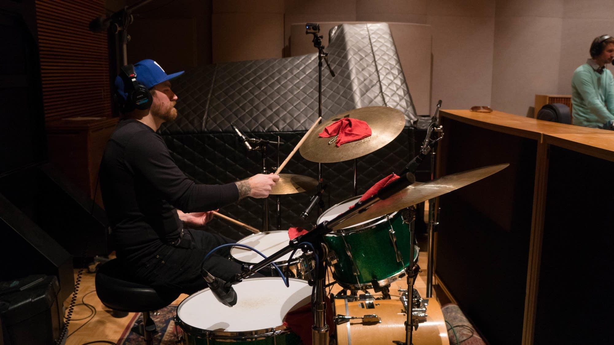Al Church studio session