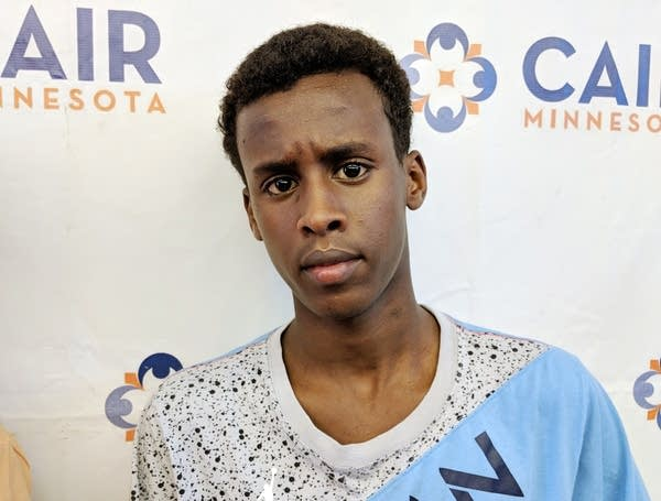 Suhaib Ahmed, 14, is one of the three boys detained by Mpls. Park Police.