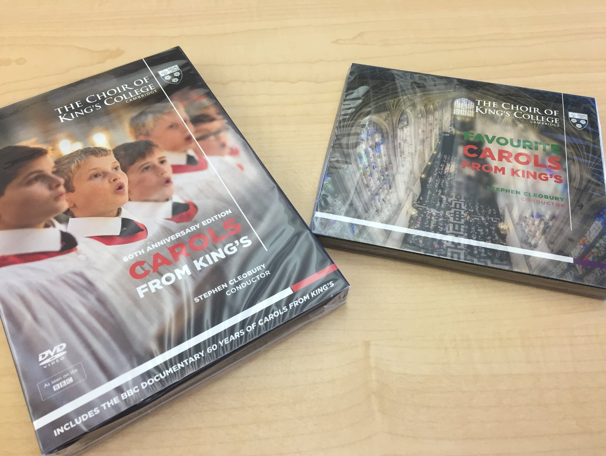 King's College Choir DVD and CD