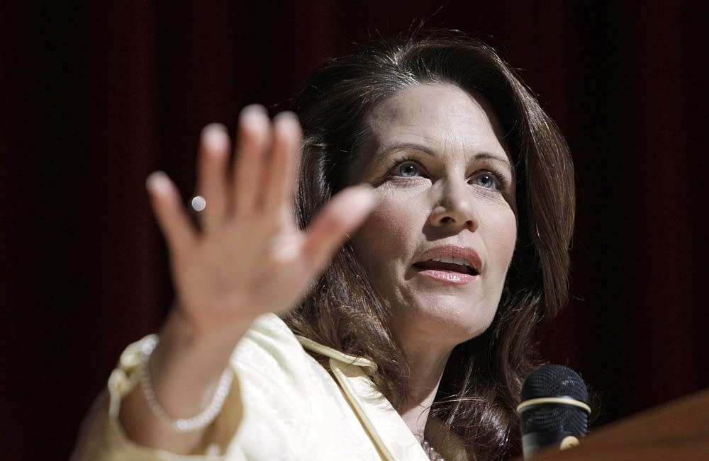 Bachmann speaks in Iowa
