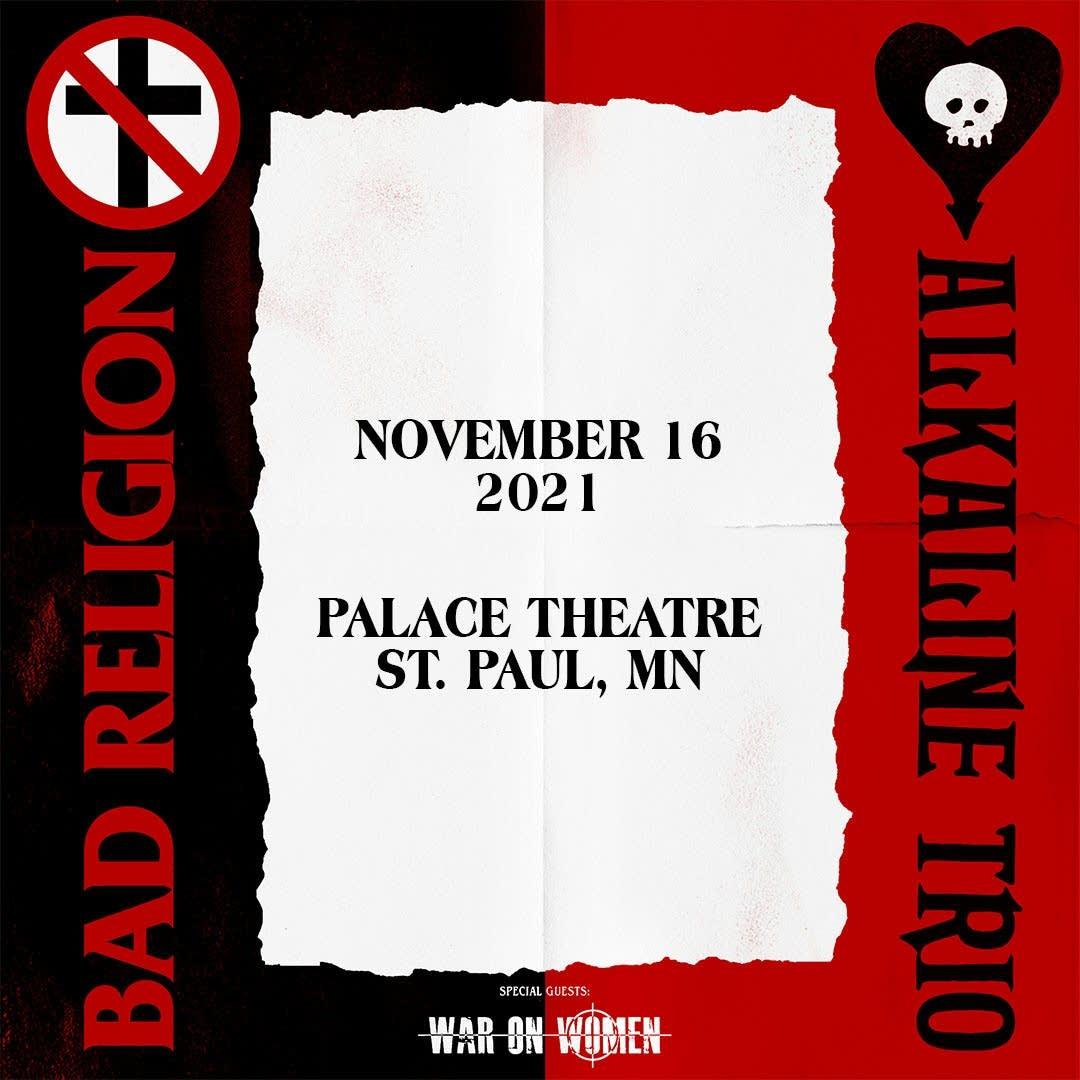 Bad Religion and Alkaline Trio