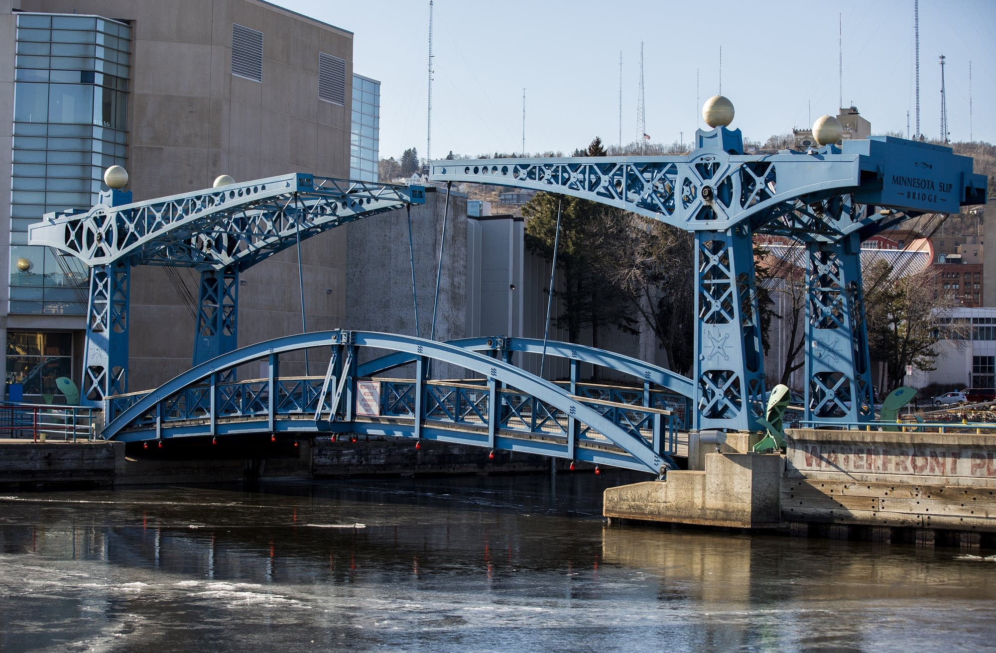 The Minnesota Slip Bridge or