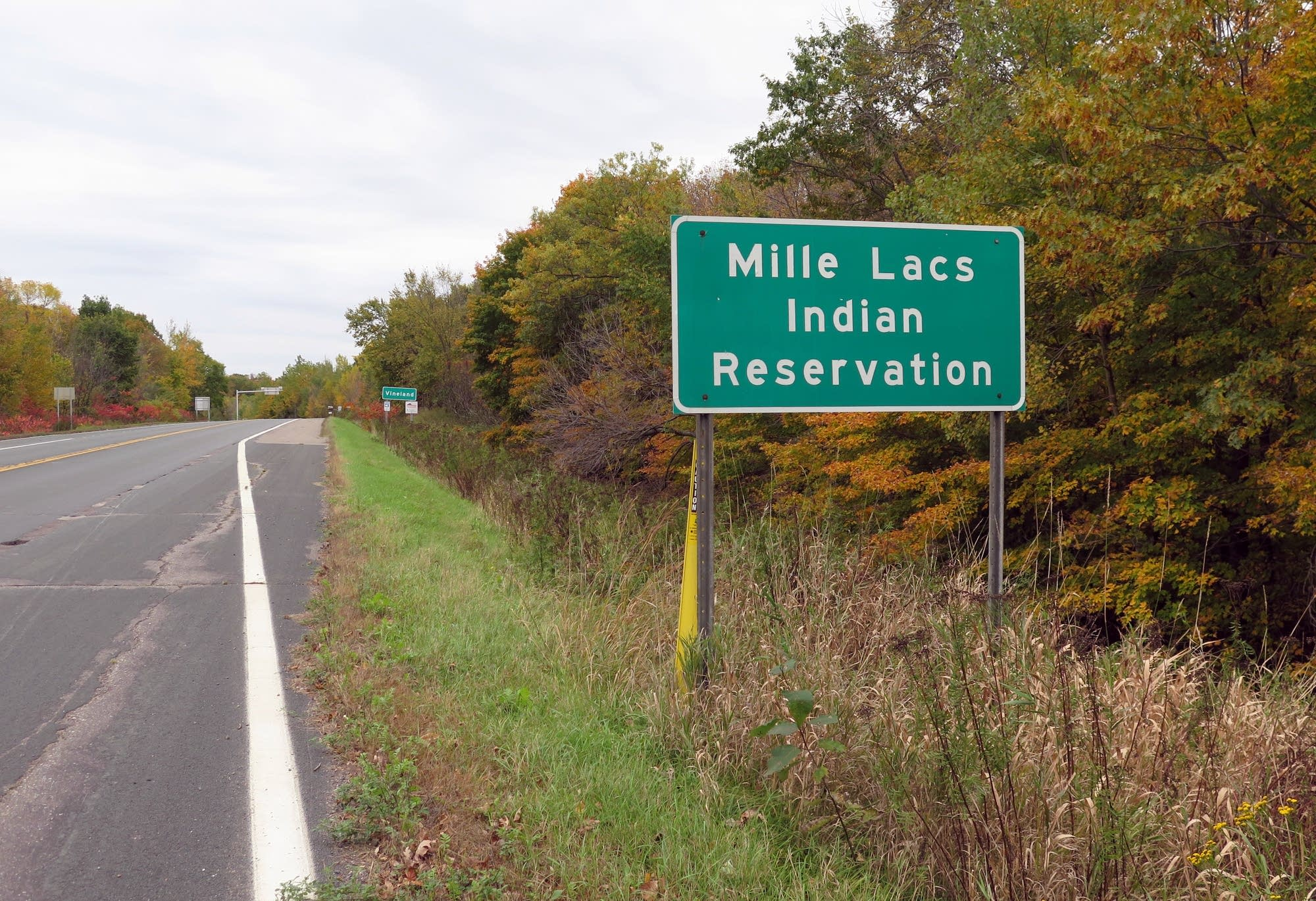 The Mille Lacs Band of Ojibwe's main reservation