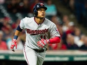 Jorge Polanco of the Minnesota Twins