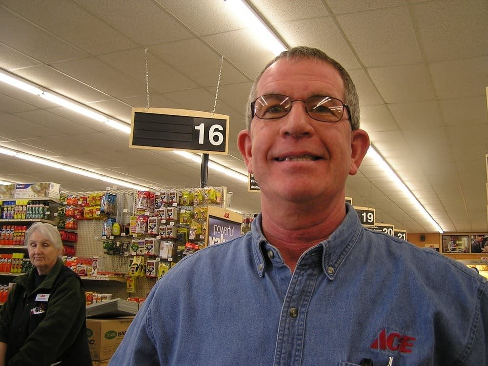 Dick Popp owns Moorhead Ace Hardware