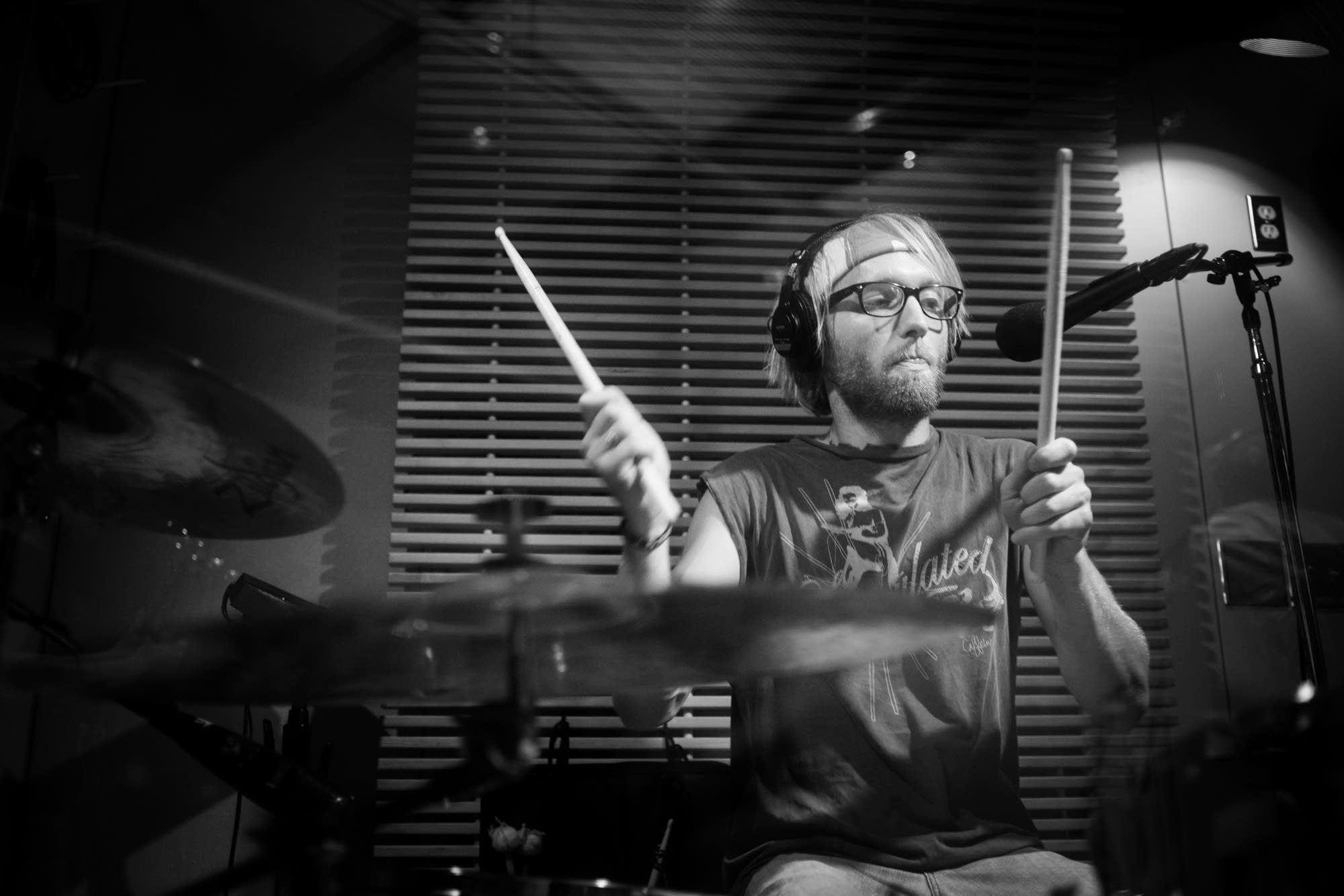 The Goondas drummer Josh Miller