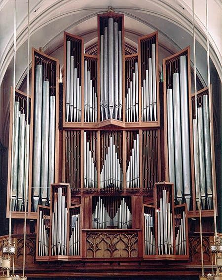 1962 Beckerath organ at Saint Paul's, Cathedral, Pittsburgh, PA