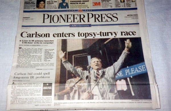 Carlson enters race