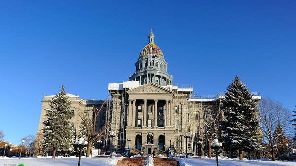 The state Capitol in Denver