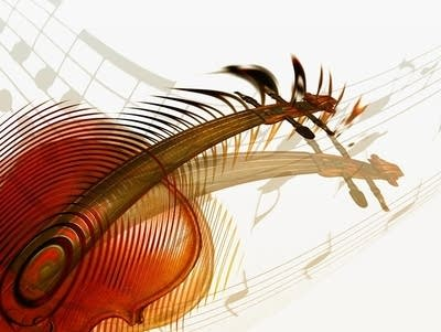 587826 20170615 violin abstract