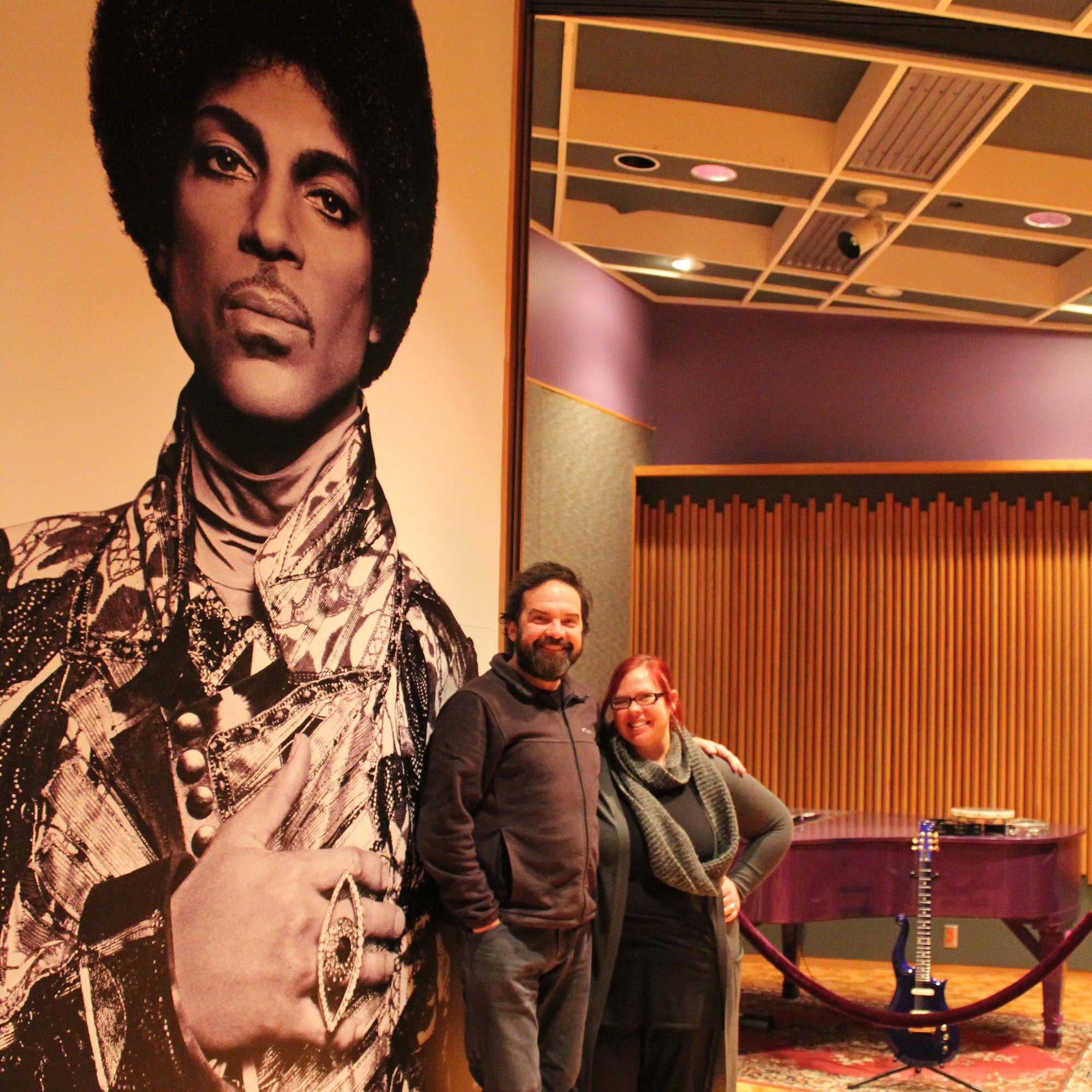 Brian Oake and Jill Riley at Paisley Park