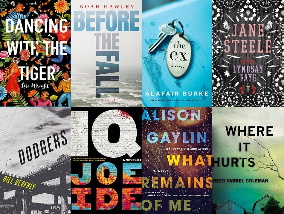 Some of the 2017 Edgar Award nominees