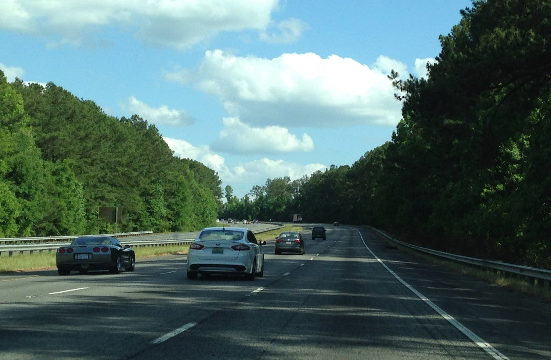 Interstate 75 near Macon, Ga., highway