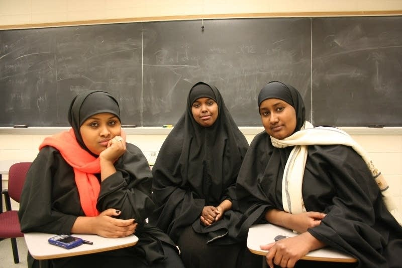 Three Somali friends