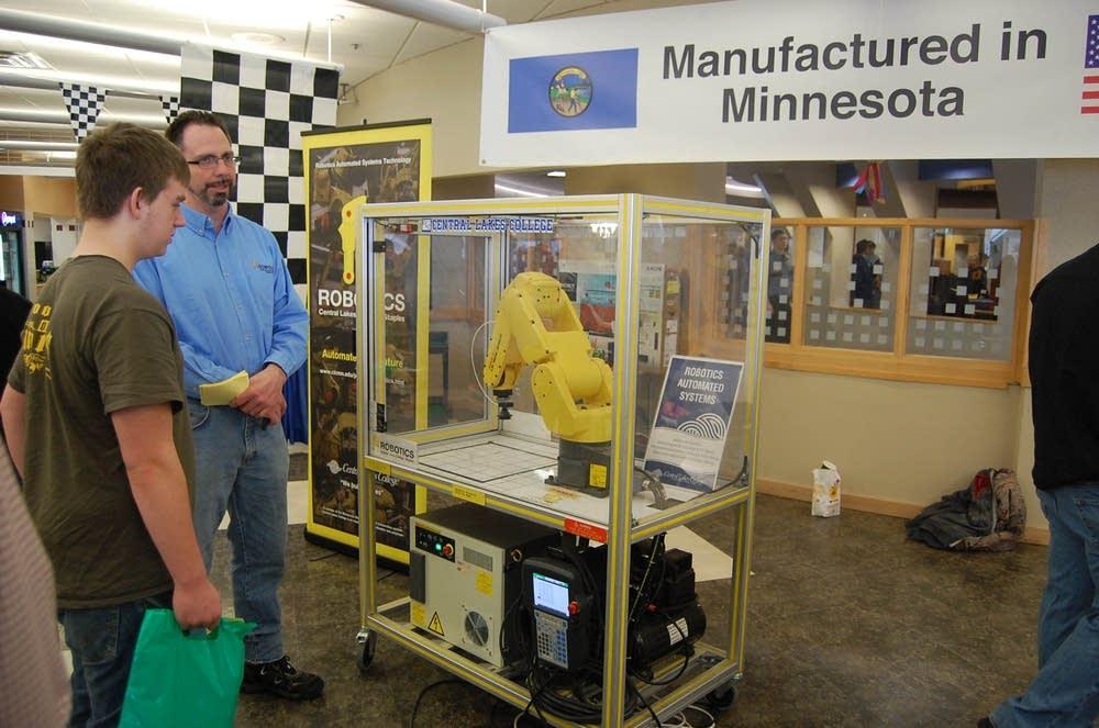 Robotics display