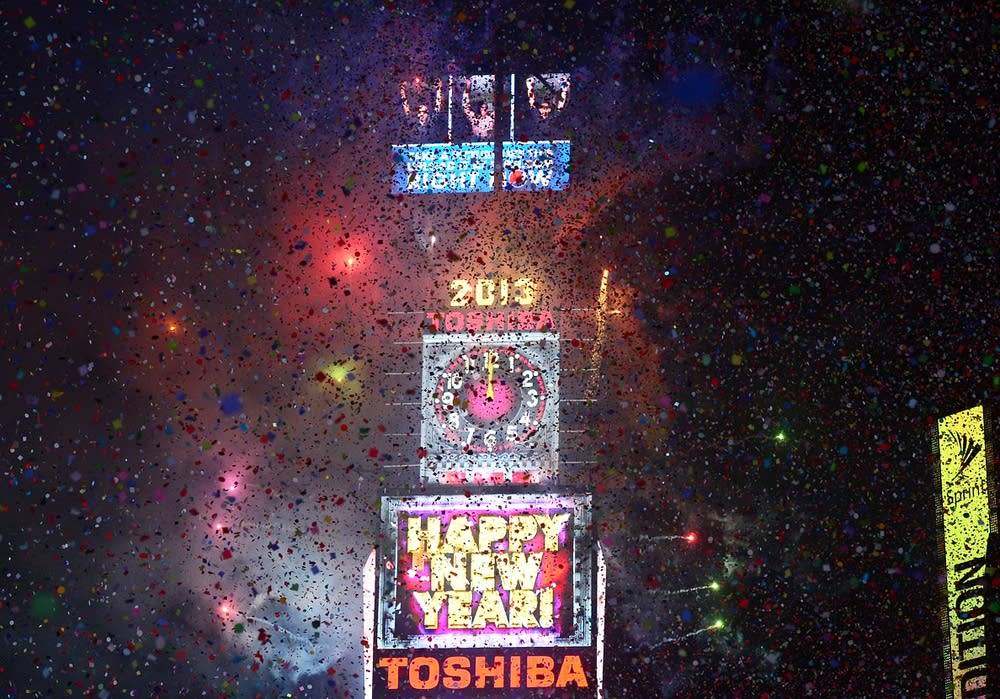 Ringing in the new year in NYC