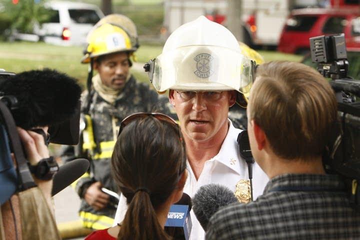 Deputy Chief D.J. Dewall
