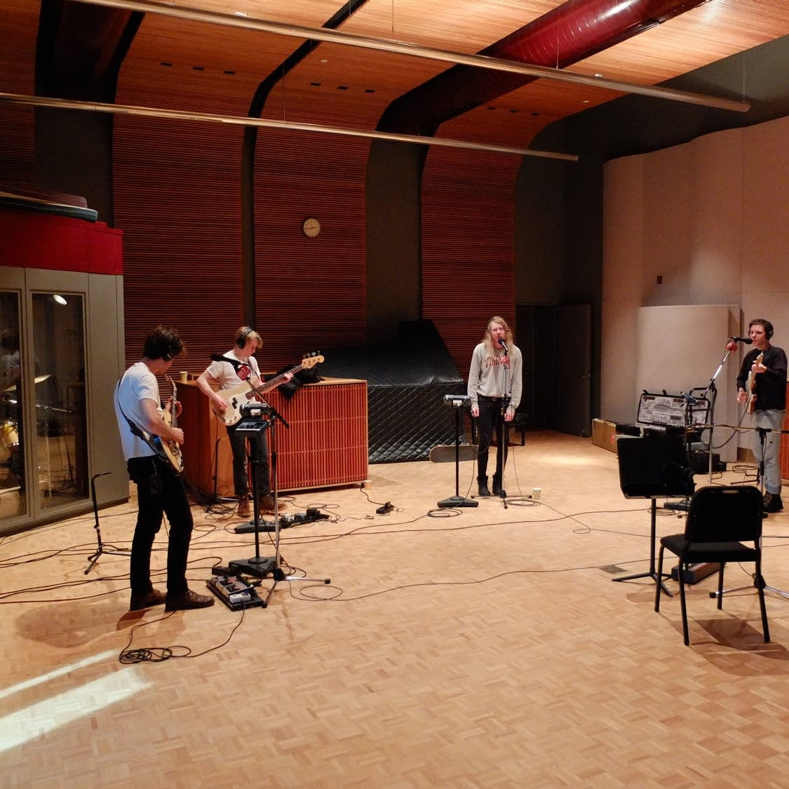 The Orwells perform in The Current studio
