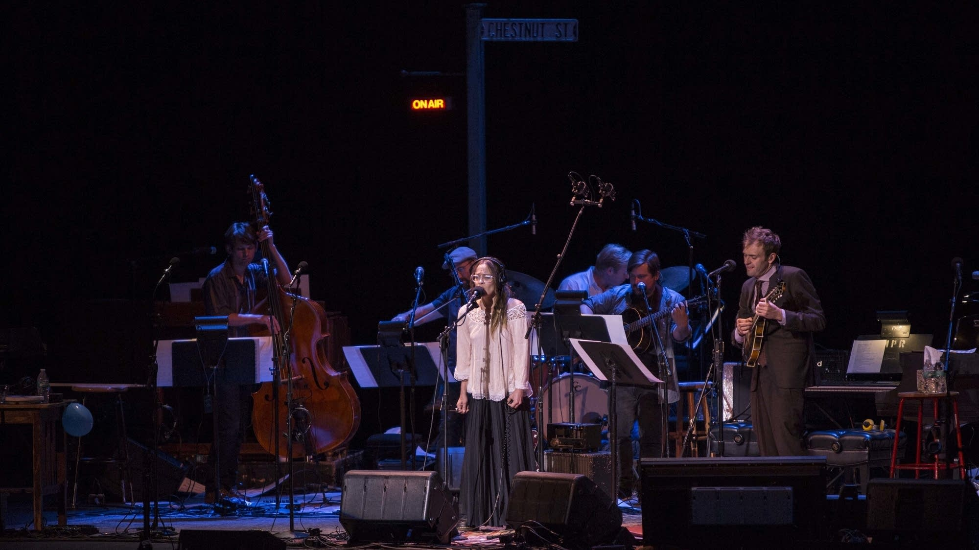 """""""Fast As You Can"""" -- Fiona Apple, Chris and band"""