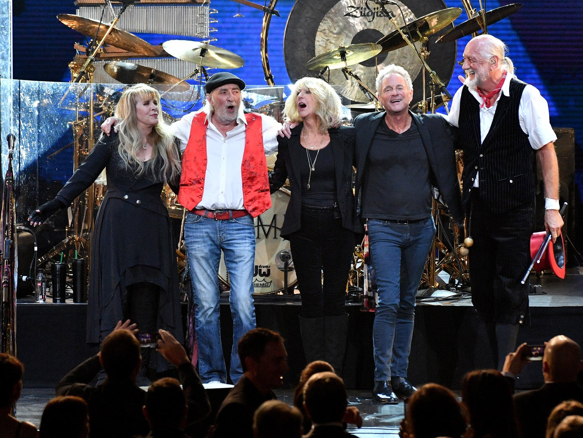 Fleetwood Mac at the MusiCares Person of the Year ceremony in 2018.