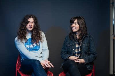 the chart show courtney barnett kurt vile rule over. Black Bedroom Furniture Sets. Home Design Ideas