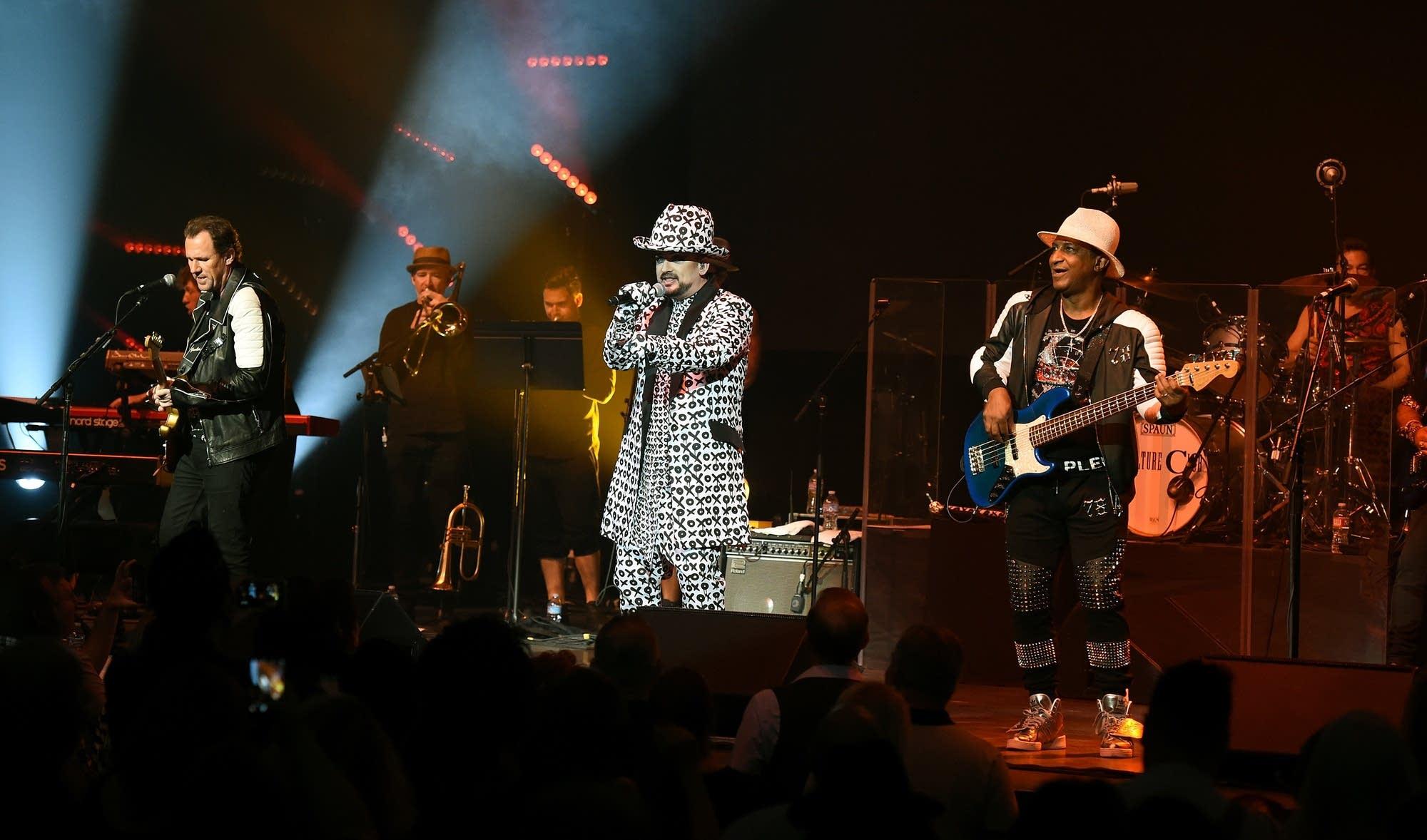 Culture Club in concert