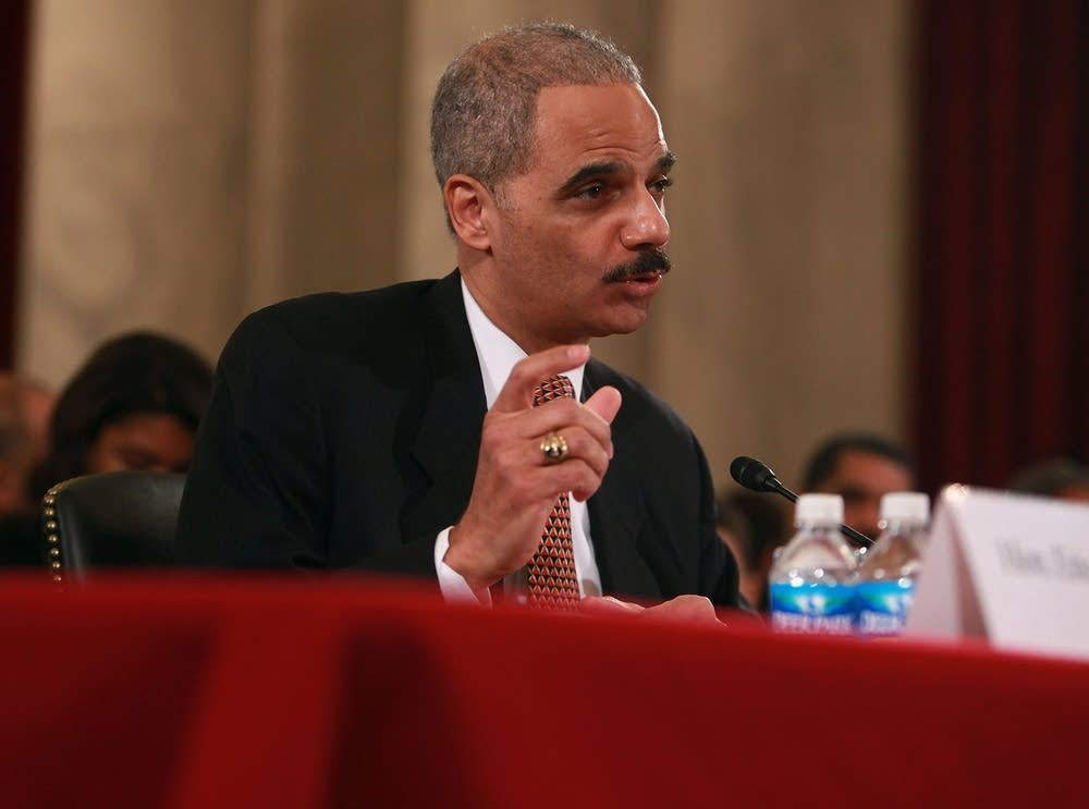 Holder testifies
