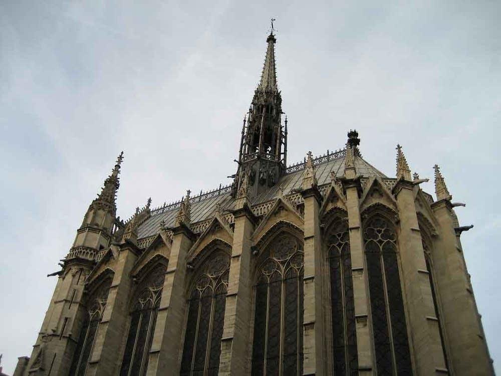 Sainte-Chapelle exterior