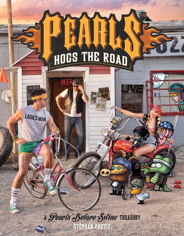 Pearls Hogs the Road cover