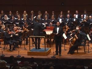 SPCO performs Handel's Messiah in 2016.