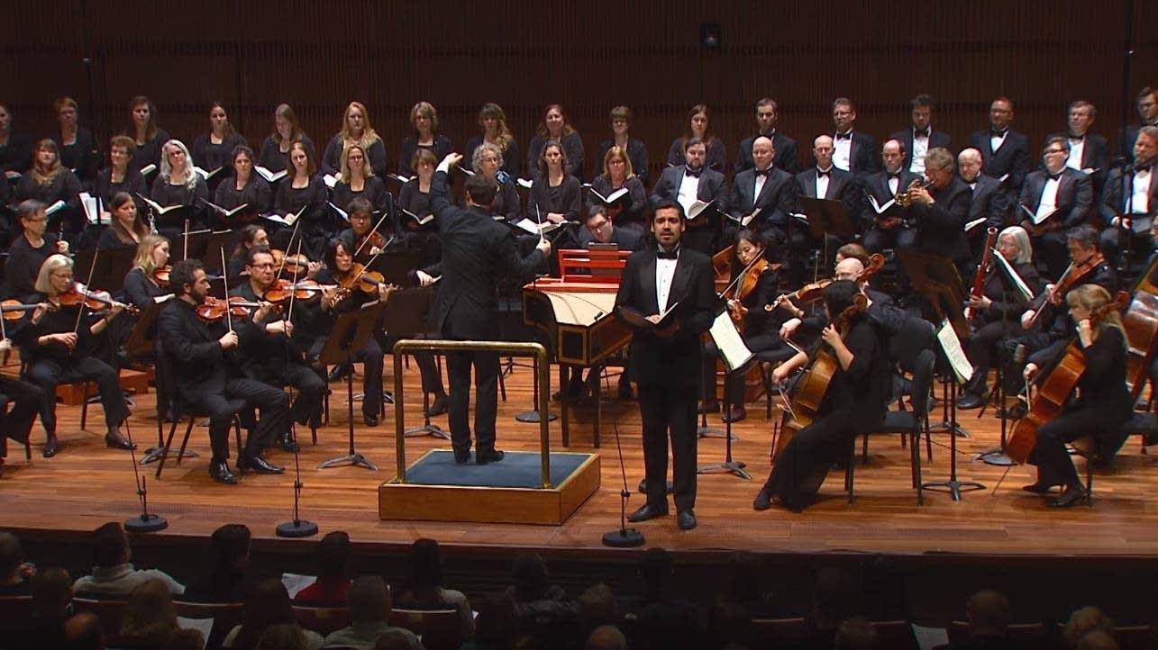 SPCO performs Handel's Messiah in 2016.