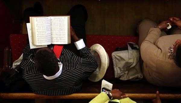 Following hymns