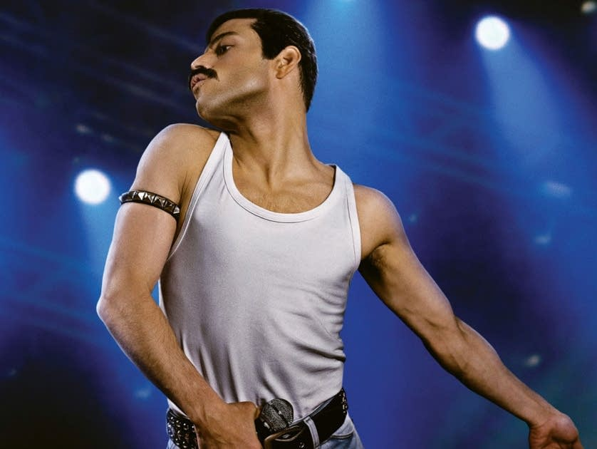 Rami Malek as Freddie Mercury in 'Bohemian Rhapsody.'