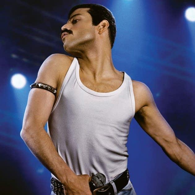 Rami Malek as Freddie Mercury in 'Bohemian Rhapsody.'