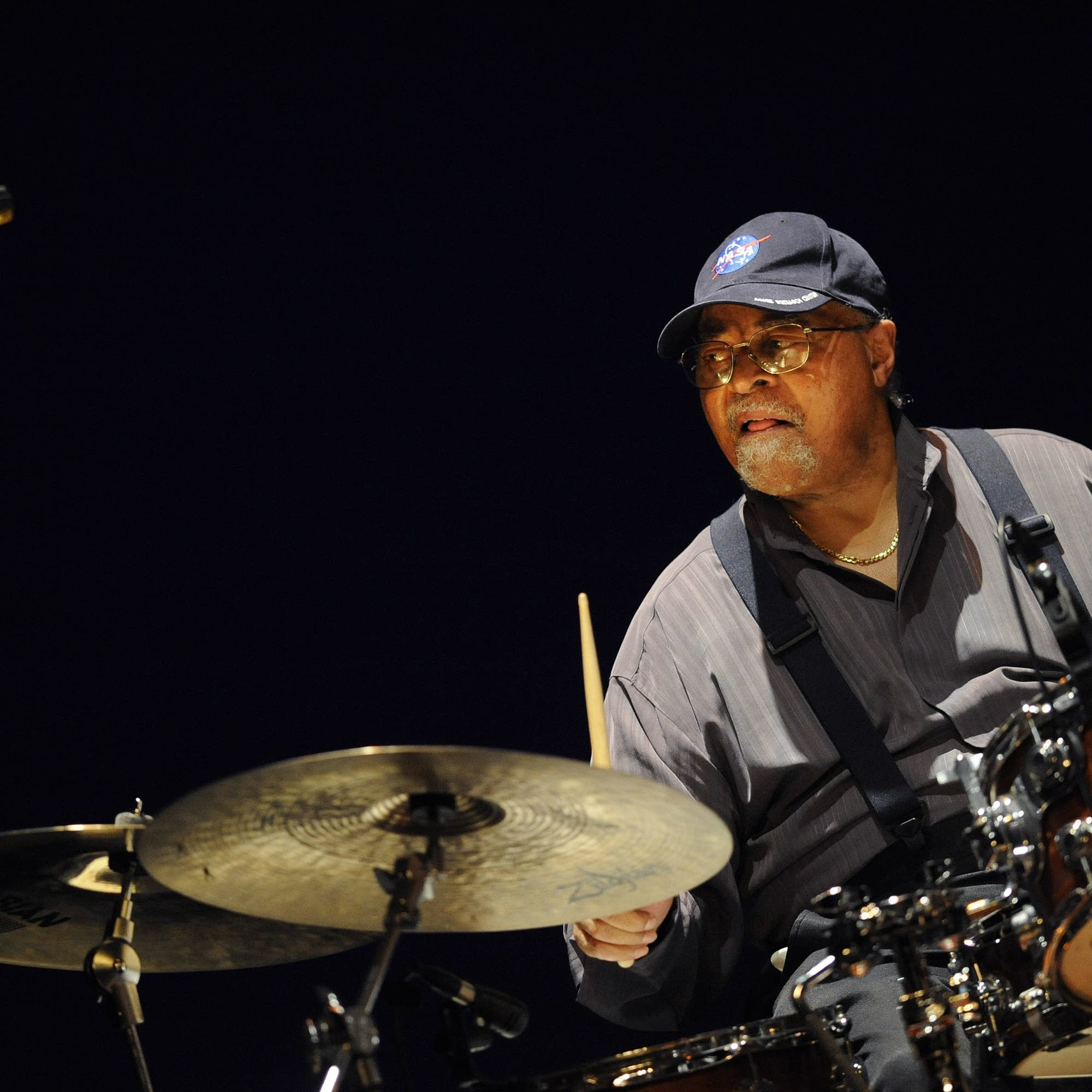 Jimmy Cobb performs in Spain, 2012.